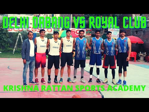 Boys Final Match DELHI DABANG VS ROYAL CLUB !! KRISHNA RATTAN SPORTS ACADEMY