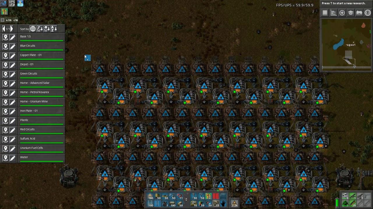 Factorio - Mega Base - E024 - Steel Beacons