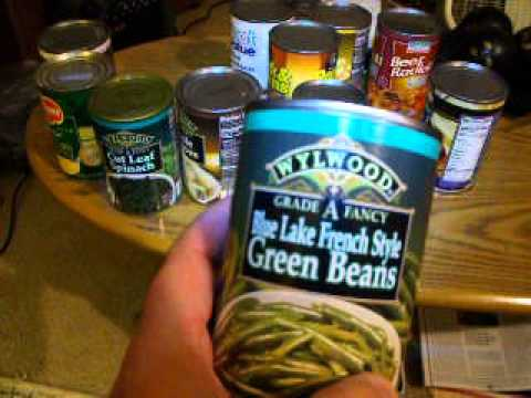 Some Canned Goods to Survive the End of the Times