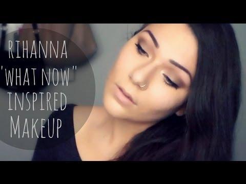 "Rihanna ""What Now"" Inspired Makeup | Brown Smokey Eye"