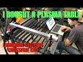 Personal CNC Plasma Table!! (Langmuir Systems Crossfire)