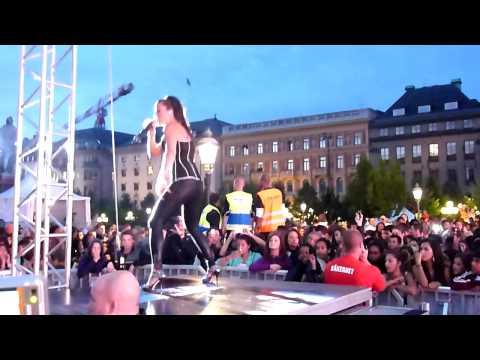 Paula Lobos - Touch the light (UNG 08 konserten)