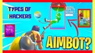FORTNITE HACKERS & CHEATERS COMPILATION (WALL HACK,AIMBOT & MORE!)
