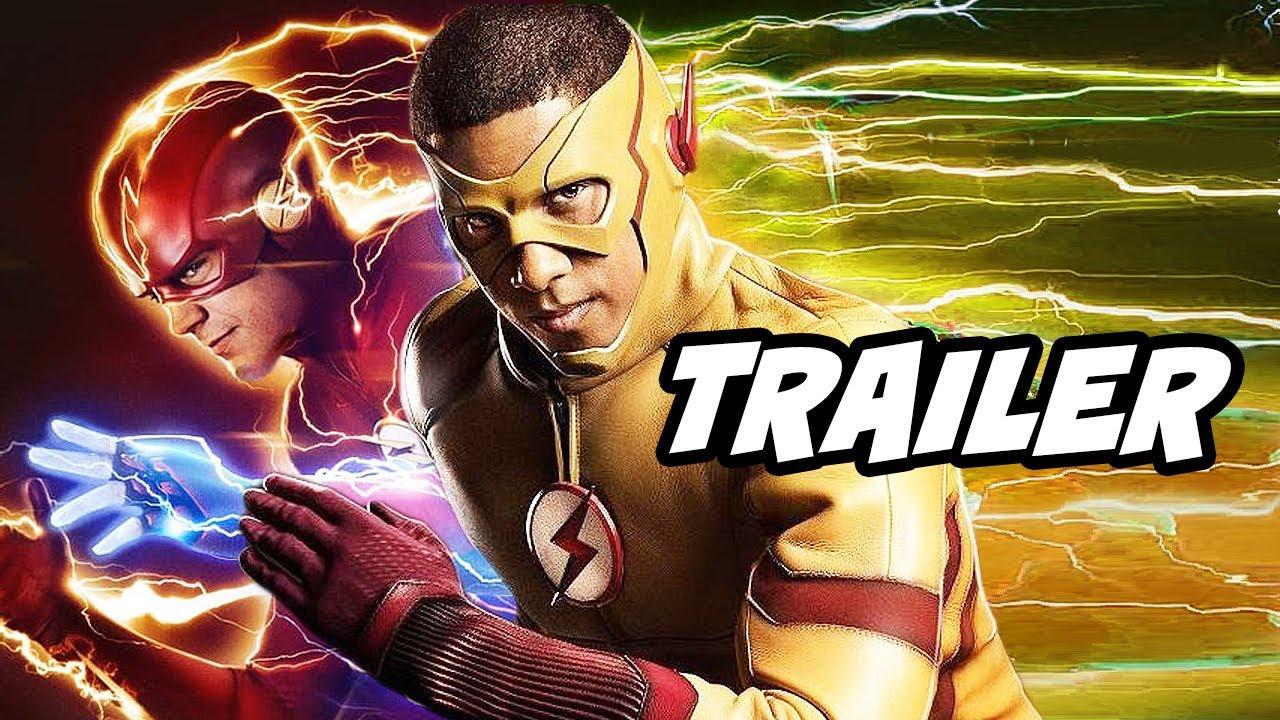 The Flash Season 6 Episode 14 Trailer - Wally West Flash Returns Scene Breakdown and Easter Eggs - YouTube