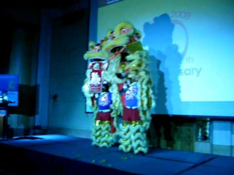 EPTC 2008 Conference Opening Ceremony - Lion Dance Performance
