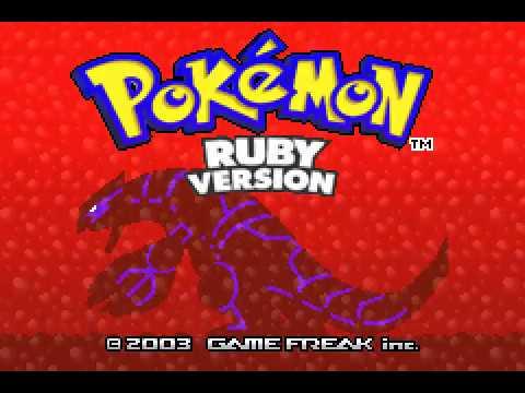 Game Boy Advance Longplay [230] Pokemon Ruby