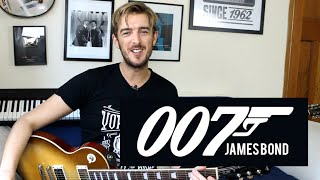 James Bond Theme - Guitar Lesson - Easy Riffs Lesson #4