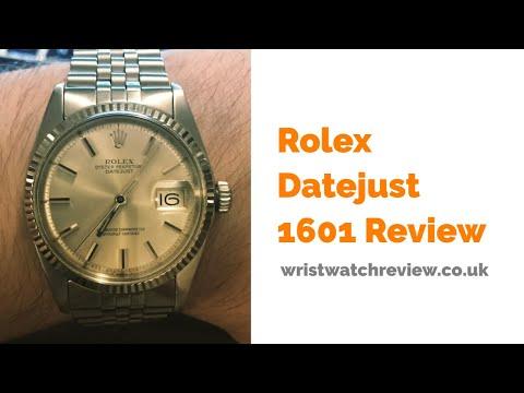 Vintage Rolex Datejust 1601 Review