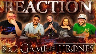 "Game of Thrones 8x2 REACTION!! ""A Knight of the Seven Kingdoms"""