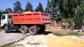 В Донецке выполняются работы по благоустройству городских пляжей (Пляж