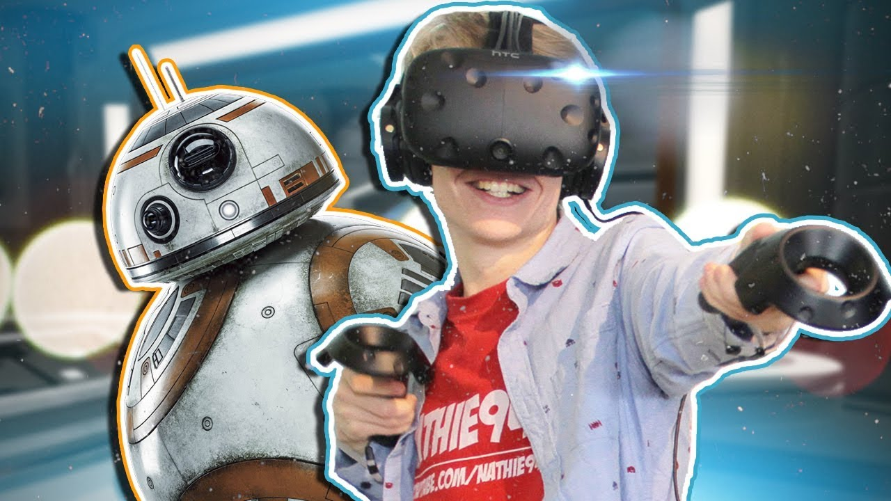 REPAIRING BB8 IN VIRTUAL REALITY! | Star Wars: Droid Repair Bay VR (HTC Vive Gameplay)