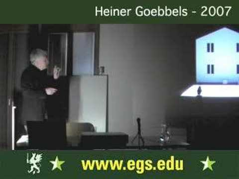 Heiner Goebbels. Composing and Directing for Theatre 2007 4/9