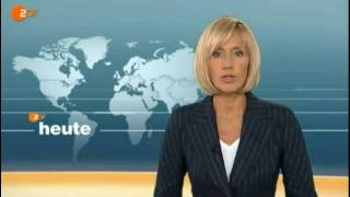 """Zdf heute launched a new """"virtual"""" studio and opening titles in mid 2009.this opener with petra gerster aired on the 28th of august 2009.wiki: (german ..."""