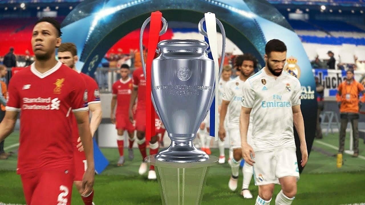  بيس ٢٠١٨ ليفربول وريال مدريد نهائي دوري ابطال اوروبا تعليق عربي  PES 2018 Liverpool VS Real Madrid 