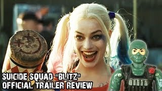"Angry ranger's suicide squad ""blitz"" movie trailer review"