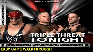 Undertaker vs Hardy Boyz Triple Threat Match WWE Raw 2002 pc Gameplay