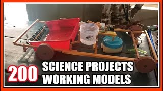 200 SCIENCE PROJECTS FOR EXHIBITION WORKING MODELS -  How To Make Science Projects IDEAS