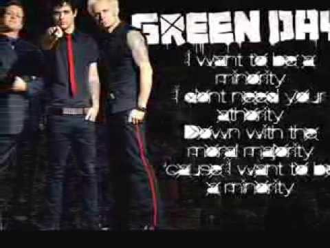 Minority Green Day Lyrics