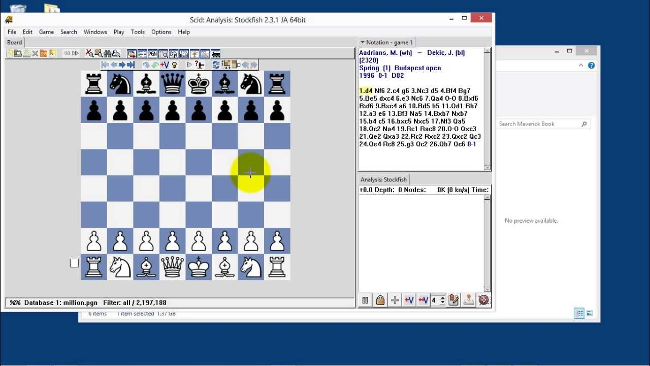 Chess Engine Opening Book