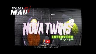 NOVA TWINS | Interview au Ferrailleur Nantes