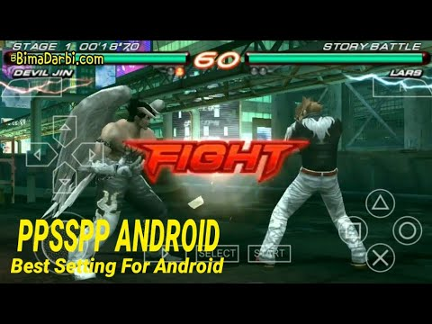 PSP Android) Tekken 6 | PPSSPP Android | Best Setting | High