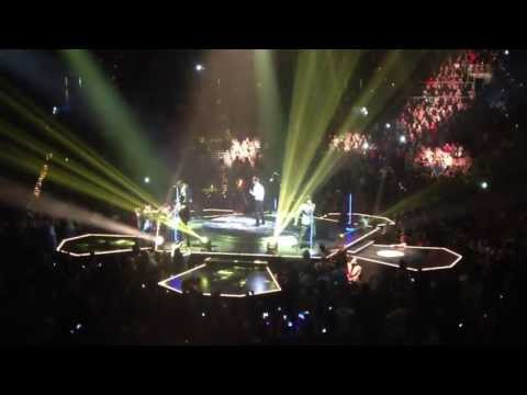 New Kids On The Block (NKOTB) LIVE - The Package Tour Concert in Las Vegas July 6, 2013 - PART 1