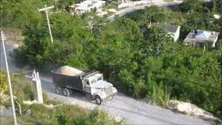 1976 Freightliner Dump Truck Missed A Gear On Hill LOADED
