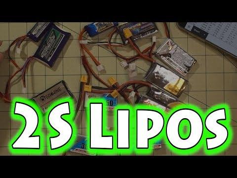 Micro Drone Lipo 🔋 2S Round Up 🔋⚡⭐