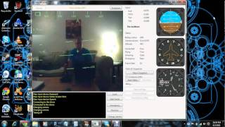 ar drone flown with pc running windows 7 and joystick