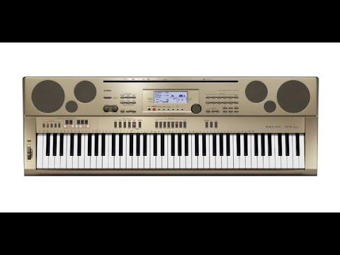Обзор синтезатора CASIO CTK-3500 - YouTube