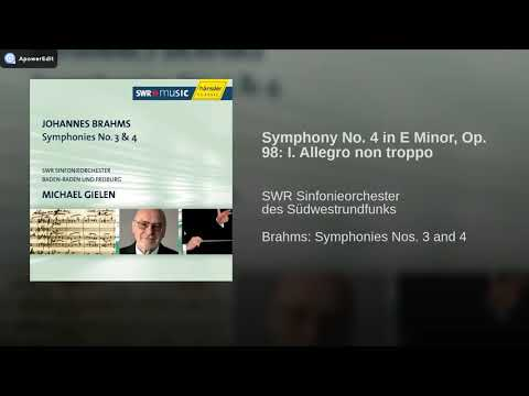 Michael Gielen Brahms Symphony No 4