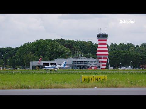 Toren Lelystad Airport vernieuwd!