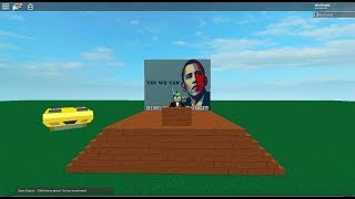 ROBLOX SCRIPT SHOWCASE | President Obama