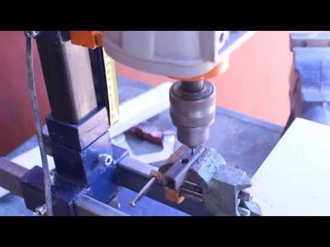 видео: Самодельная стойка для дрели своими руками.Часть 7.homemade drill press