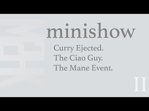 Steph Ejected, The Ciao Guy and what the Mane Event Really Means..
