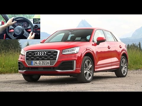 2016 audi q2 essai video prise en mains du suv compact prix avis habitacle test drive. Black Bedroom Furniture Sets. Home Design Ideas