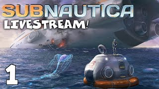 Beginning a New Adventure! - Subnautica Gameplay - Livestream (1)