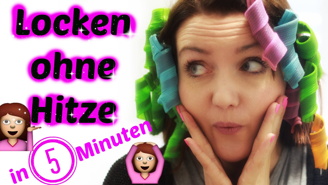 Locken Ohne Hitze In 5 Minuten Tutoriall Magic Leverag Deutsch