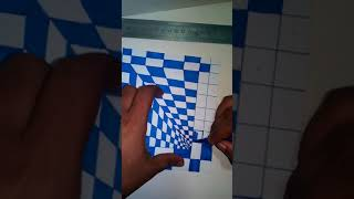 How to drawing Anamorphic Illusion