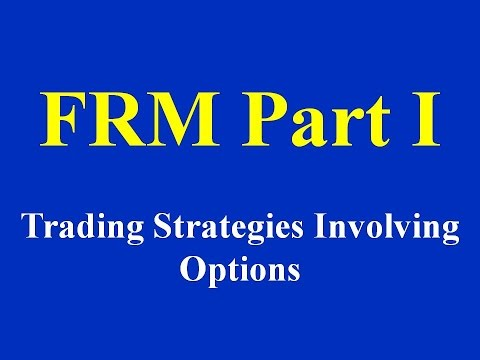 FRM Part I : Trading Strategies Involving Options