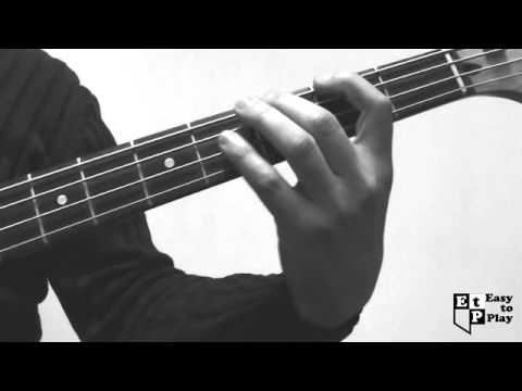 Zombie Bass Line (Cranberries Cover) How to Play Lesson for Beginners