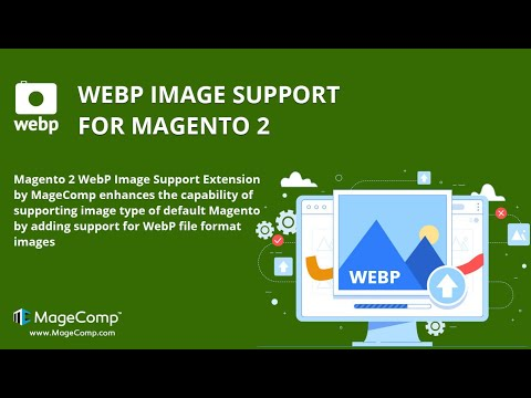 Webp Image Support Extension for Magento 2