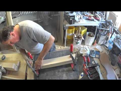 Woodworking Cabriole  Queen Ann leg part 1