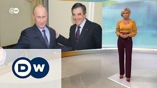 Фактор Путина в предвыборной борьбе во Франции   DW Новости (25 11 2016)