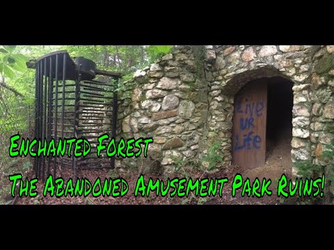Urban Exploring The Enchanted Forest Abandoned Amusement Park Ruins 5/27/2017