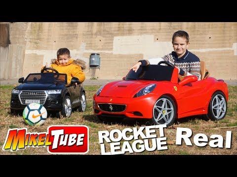 Rocket League en la Vida Real con nuestros carros eléctricos a bateria