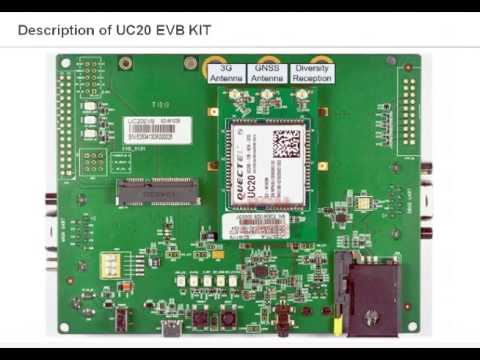 Quectel 3G modules of UC20 series will ensure a fast transmission