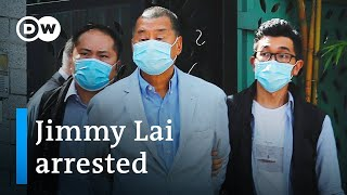 Hong Kong media mogul Jimmy Lai arrested under new security law | DW News