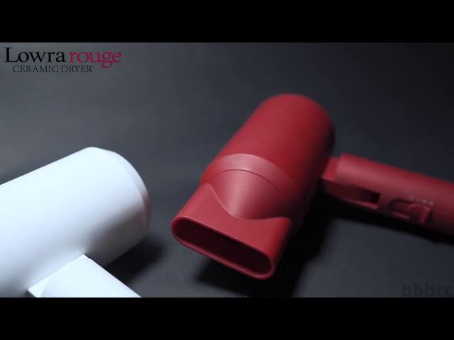日本熱賣無幅射風筒🎊Lowra rouge復古紅白新色  mydress.com