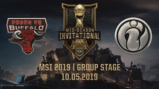 PVB vs IG [MSI 2019][10.05.2019][Group Stage]